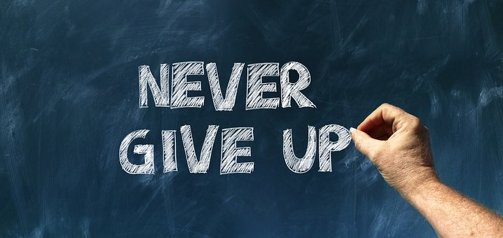 Never Give Up Picture